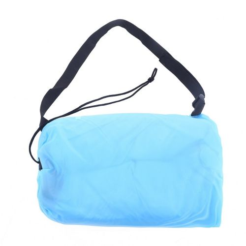 Lazy Bag AIR SOFA materac leżak - błękitny