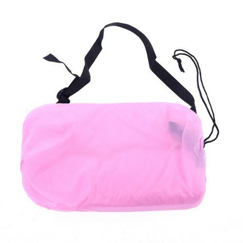 Lazy Bag AIR SOFA materac leżak - różowy