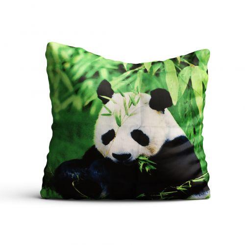 Poszewki 3D na jaśki - Słodka Panda - 40x40 cm - 2 szt - 401-04