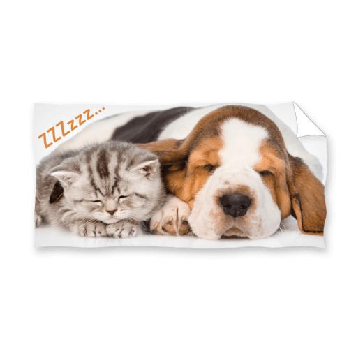 Ręcznik plażowy 70x140 - Mali Przyjaciele