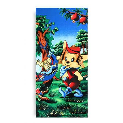 Ręcznik plażowy 70x145 cm - Bajkowe Wakacje RPL-28