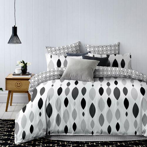 narzuta na łóżko szara